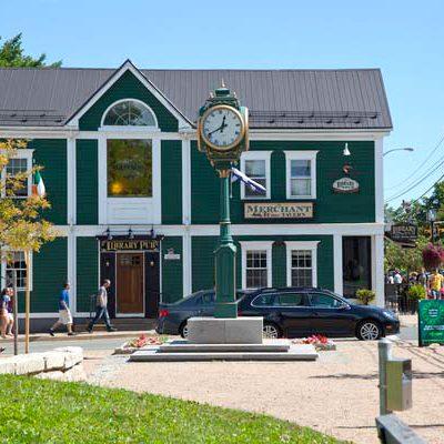 Wolfville Clock Park